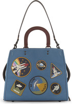 Coach Rogue Space patches leather tote