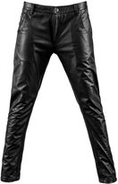 MCMA LONDON - Black Leather Pants