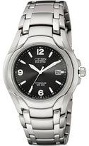 Citizen BM6060-57F Eco-Drive 180 WR100 Titanium Bracelet Watch