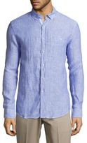 Report Collection Classic-Fit Linen Shirt