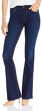 Hudson Nico Mid-Rise Boot-Cut Jeans in Requiem