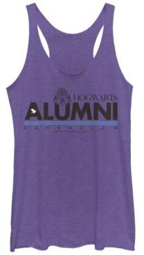 Fifth Sun Harry Potter Hogwarts Alumni Ravenclaw Tri-Blend Women's Racerback Tank