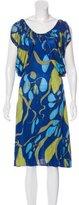 Mara Hoffman Silk Printed Dress w/ Tags