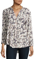 Calvin Klein Abstract Patterned Blouse