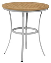 Oxford Garden Travira Cafe Bar Table - Natural Tekwood