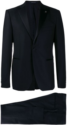 Tagliatore Pinstripe Dinner Suit