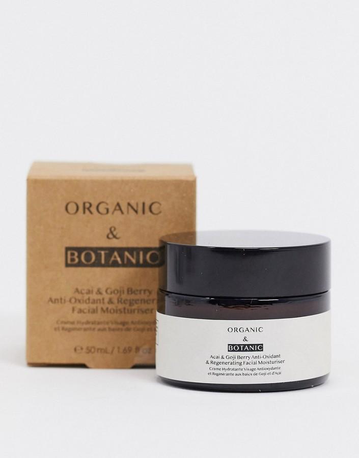 Organic & Botanic acai and goji berry moisturiser 50ml