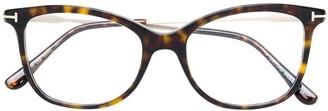 Tom Ford Cat Eye Frame Glasses