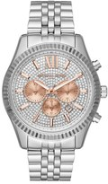 MICHAEL Michael Kors 'Lexington' Chronograph Bracelet Watch, 44mm