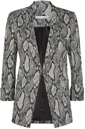 Alice + Olivia Richie Shawl Collar Blazer