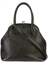 Y's clasp panelled handbag - women - Calf Leather - One Size