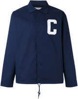 Carhartt letter shirt jacket - men - Cotton/Polyester - S