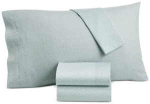 Lucky Brand Closeout! Baja Stripe Cotton 230-Thread Count 3-Pc. Twin Sheet Set, Created for Macy's Bedding