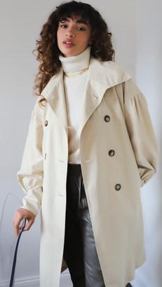 AVAVAV Double Breasted Checked Coat