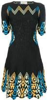 Peter Pilotto contrast print dress