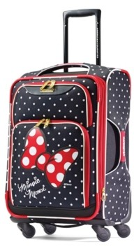 """American Tourister Disney by Minnie Mouse Red Bow 21"""" Carry-On Spinner"""