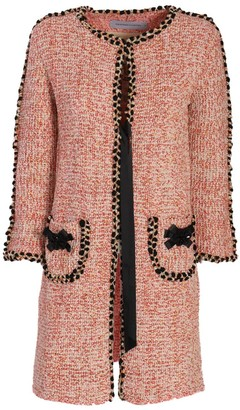 The Extreme Collection Coral Long Knit Coat Fatima