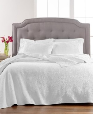 Martha Stewart Collection Quilted Medallion Full/Queen Quilt, Created for Macy's