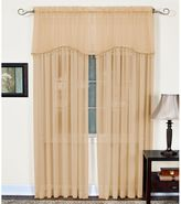 Bed Bath & Beyond Mystic Sheer Rod Pocket Window Valance