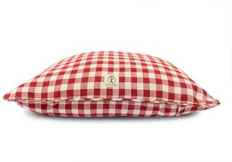 west elm Buffalo Check Envelope Dog Bed