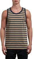 Volcom Men's Briggs Striped Tank Top