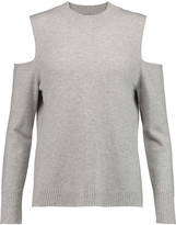 Iris and Ink Paloma cutout cashmere sweater