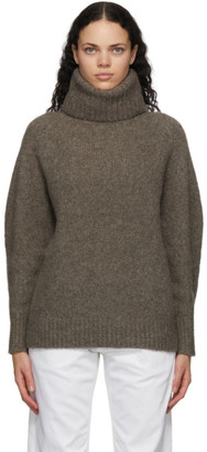 LOULOU STUDIO Taupe Oversized Sweater