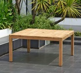 Pottery Barn Saldano Square Teak Dining Table
