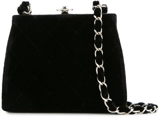 Chanel Pre-Owned 1996-1997 quilted CC chain shoulder bag