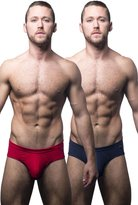 Andrew Christian Basix Tagless Brief 2-Pack