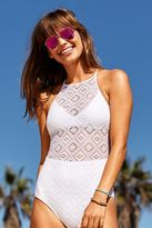 aerie Crochet One-Piece Swimsuit
