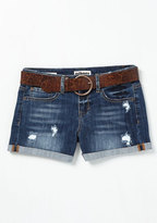 Canoes Flash Denim Shorts in Mid Wash in 9
