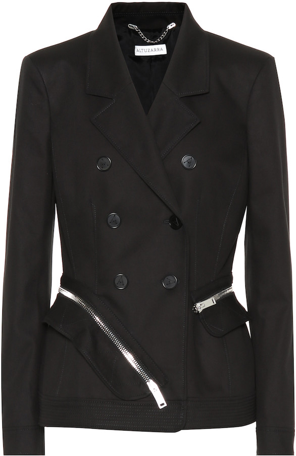 Altuzarra Embellished cotton blazer