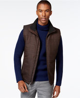 Vince Camuto Quilted Plaid Vest
