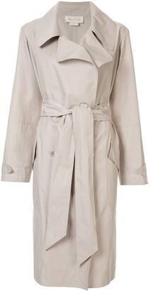 Karen Walker Tie-Waist Trench Coat