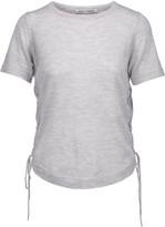 Autumn Cashmere Lace-up cashmere T-shirt