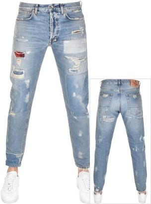 PRPS Thunderbird Crop Jeans Blue