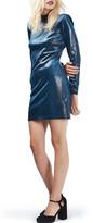 Topshop Velvet Body-Con Dress