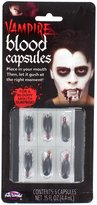 Fun World Costumes Vampire Fake Blood Capsules - Halloween Fancy Dress Party Accessory