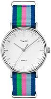 Timex Unisex Weekender Fairfield Striped Watch - TW2P91700JT