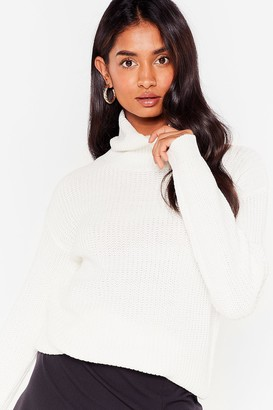 Nasty Gal Womens Let the Goodtimes Roll Longline jumper - White - S