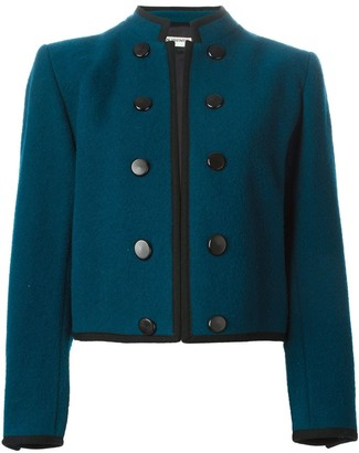 Yves Saint Laurent Pre Owned Cropped Jacket