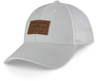 Southern Tide Leather Patch Trucker Hat