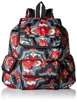 Le Sport Sac Women's Explorer Backpack, Romanian Rose
