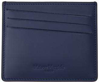 Maison Margiela Black and Navy Classic Card Holder