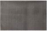 Linea Black Woven Vinyl Placemat Set of 4