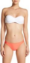 Splendid Solid Side Strap Bikini Bottom