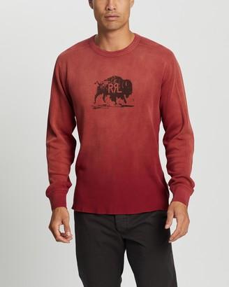 Ralph Lauren RRL LS Graphic Long Sleeve Knit