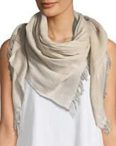 Eileen Fisher Sparkle Cotton-Blend Wrap Scarf