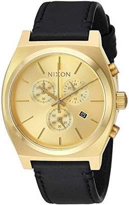 Nixon Mens Chronograph Quartz Watch with Textile Strap A1164510